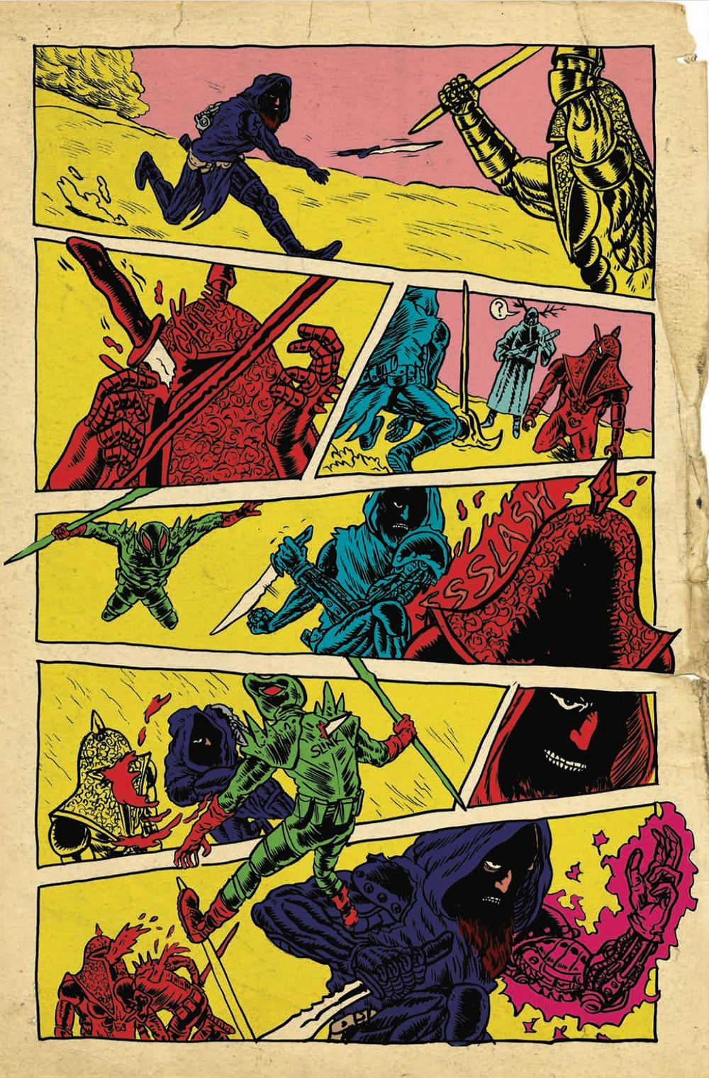 Space Riders, issue #1, page 4, Black Mask Studios, Giffoni/Ziritt