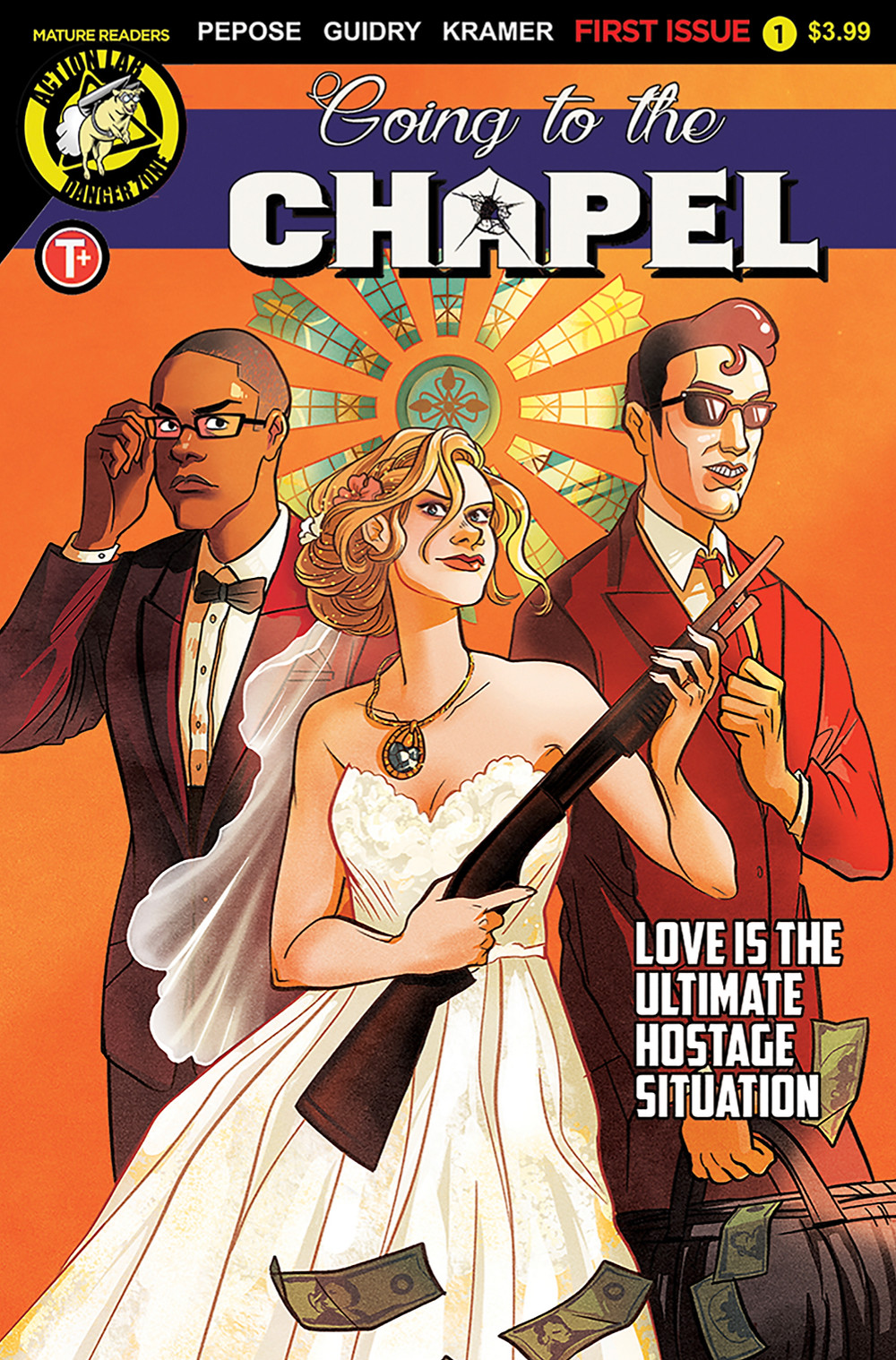 Going to the Chapel #1, cover, Action Lab Entertainment, Pepose/Guidry