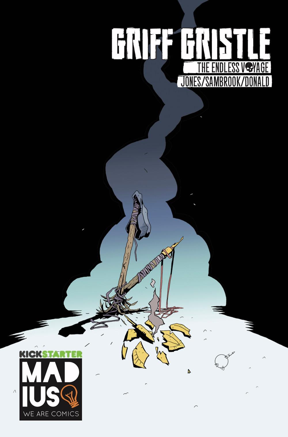 Griff Gristle #3, cover, Madius Comics, Jones/Sambrook/Donald