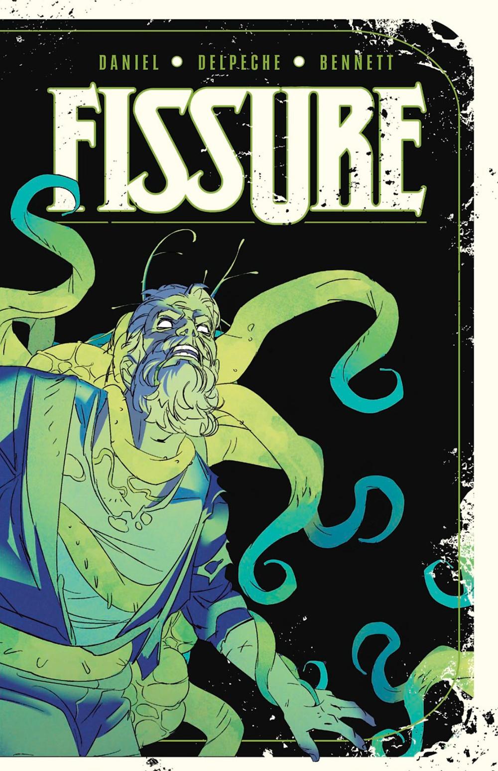 Fissure, Vol.1, cover, Vault Comics, Daniel/Delpeche