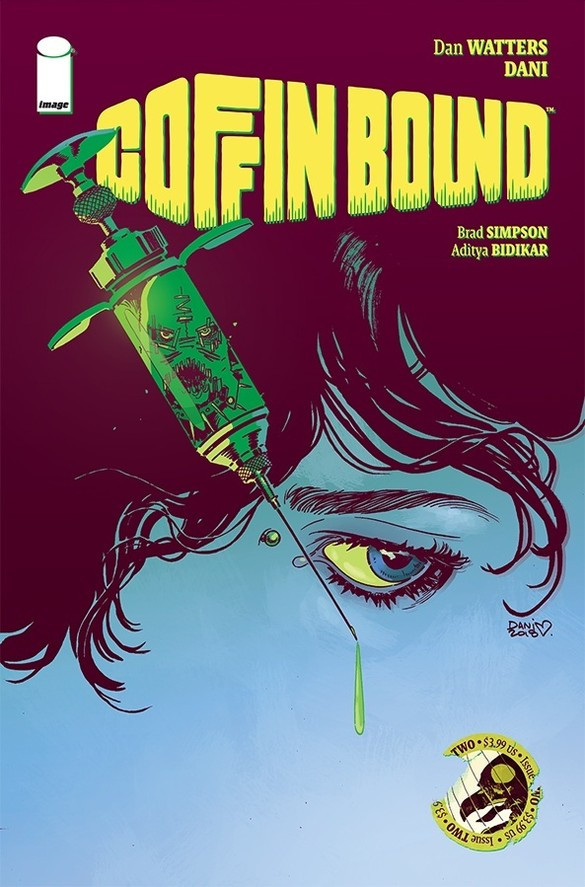 Coffin Bound, issue #2, cover, Image Comics, Watters/Dani