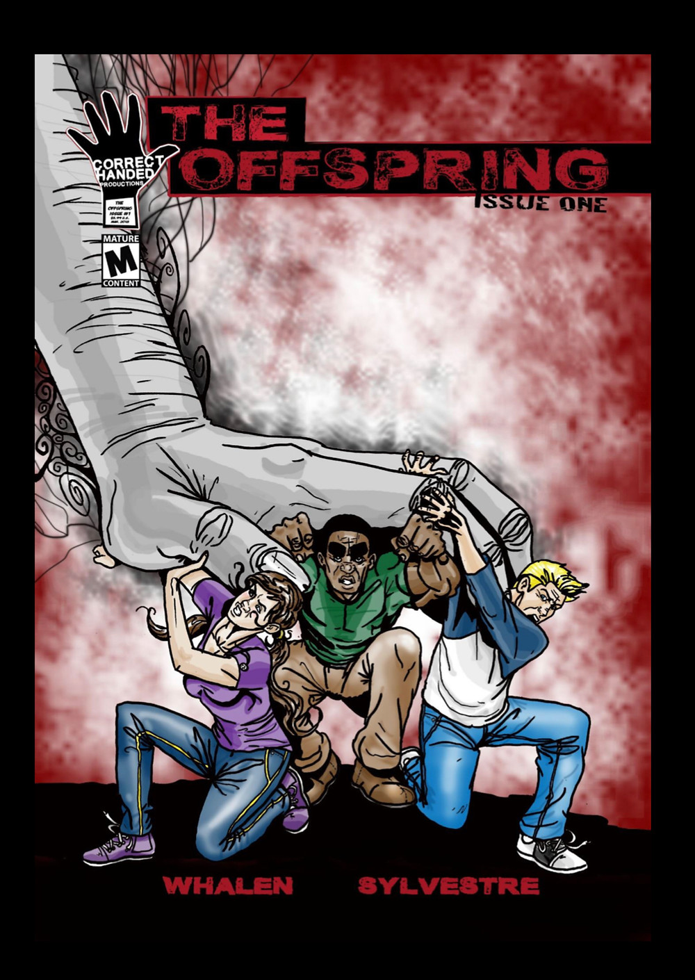 The Offspring, issue #1, cover, Correct Handed Productions, Whalen/Sylvestre