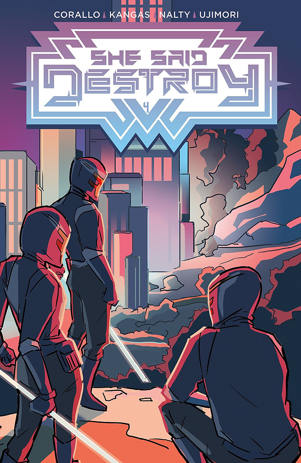 She Said Destroy, Issue #4, cover, Vault Comics, Corallo/Kangas