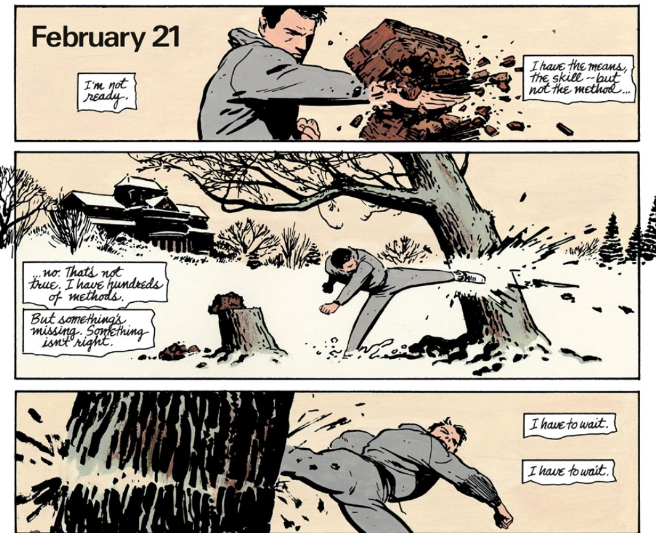 Batman: Year One (tpb), page 18, DC, Miller/Mazzucchelli