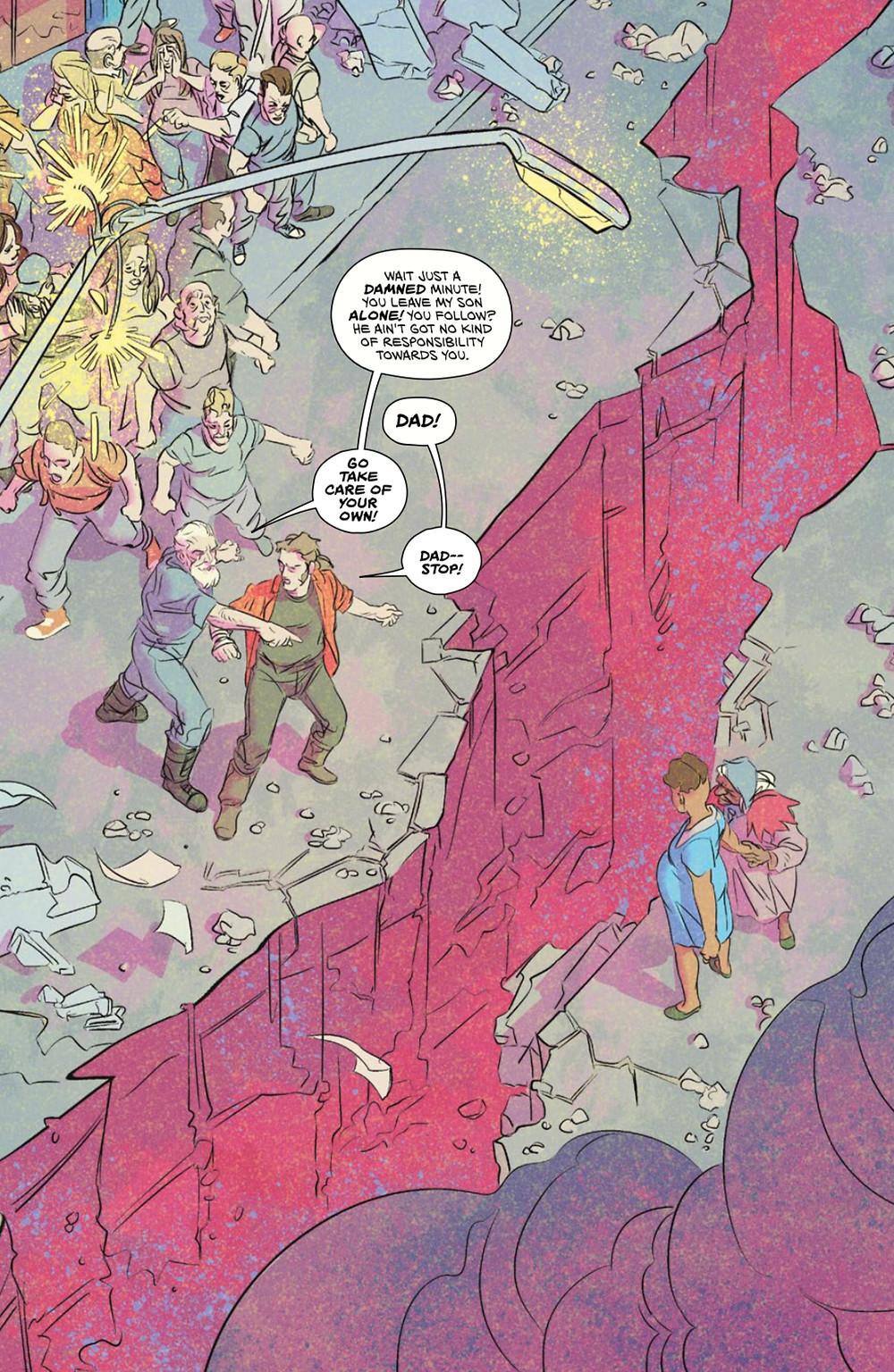 Fissure, Vol.1, page 24, Vault Comics, Daniel/Delpeche