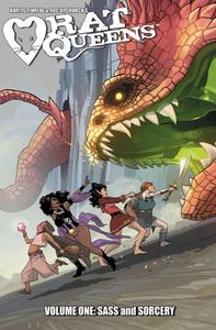 Rat Queens, Vol. 1 (tpb), cover, Image Comics, Wiebe/Upchurch