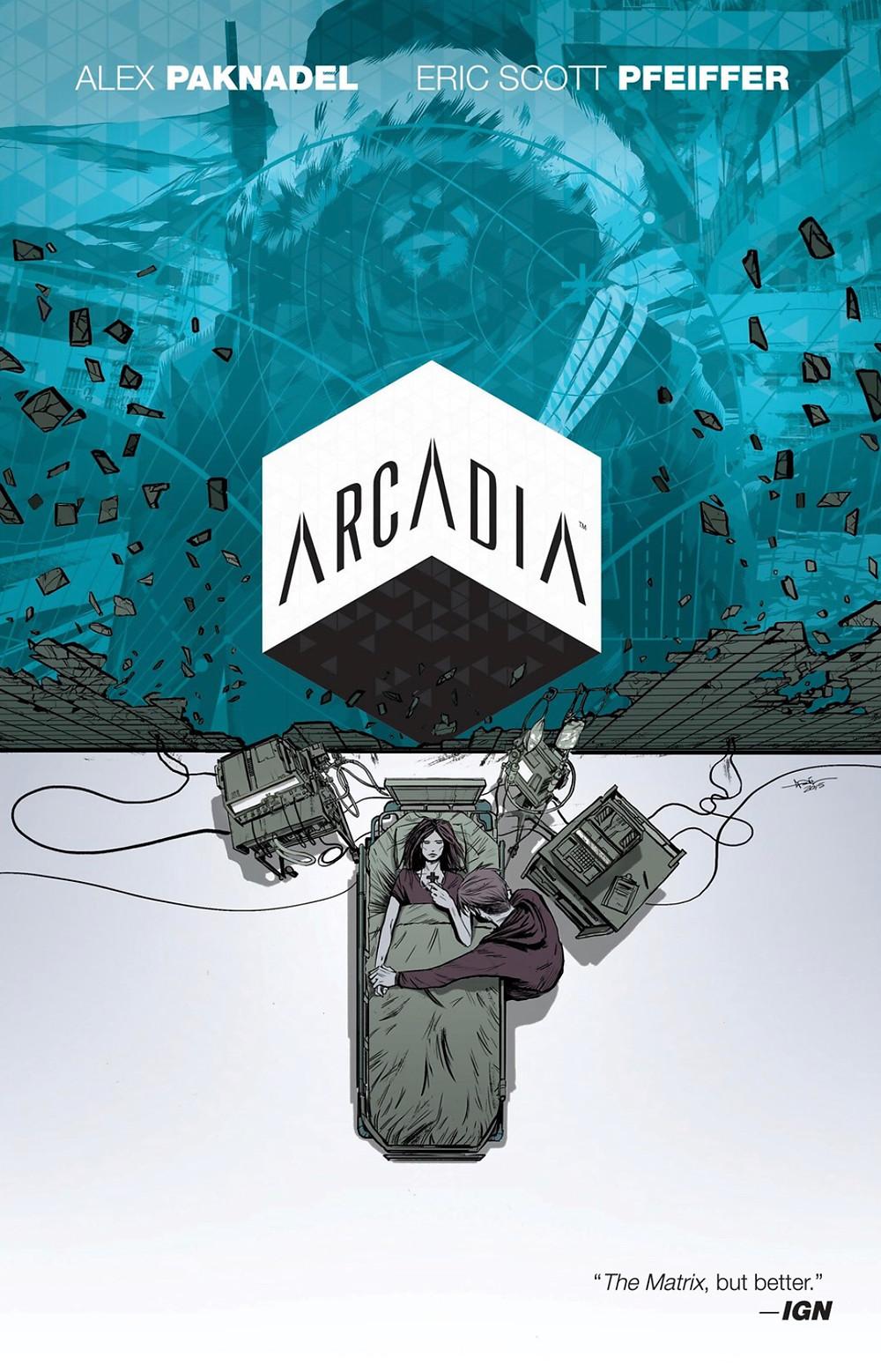 Arcadia, cover, BOOM! Studios, Paknadel/Pfeiffer
