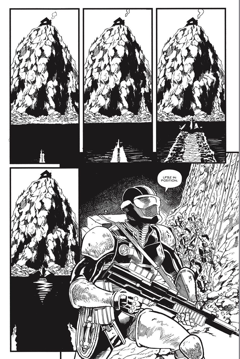 Midwinter, issue #1, page 15, UK Comics Creative, Whitehead/Holden