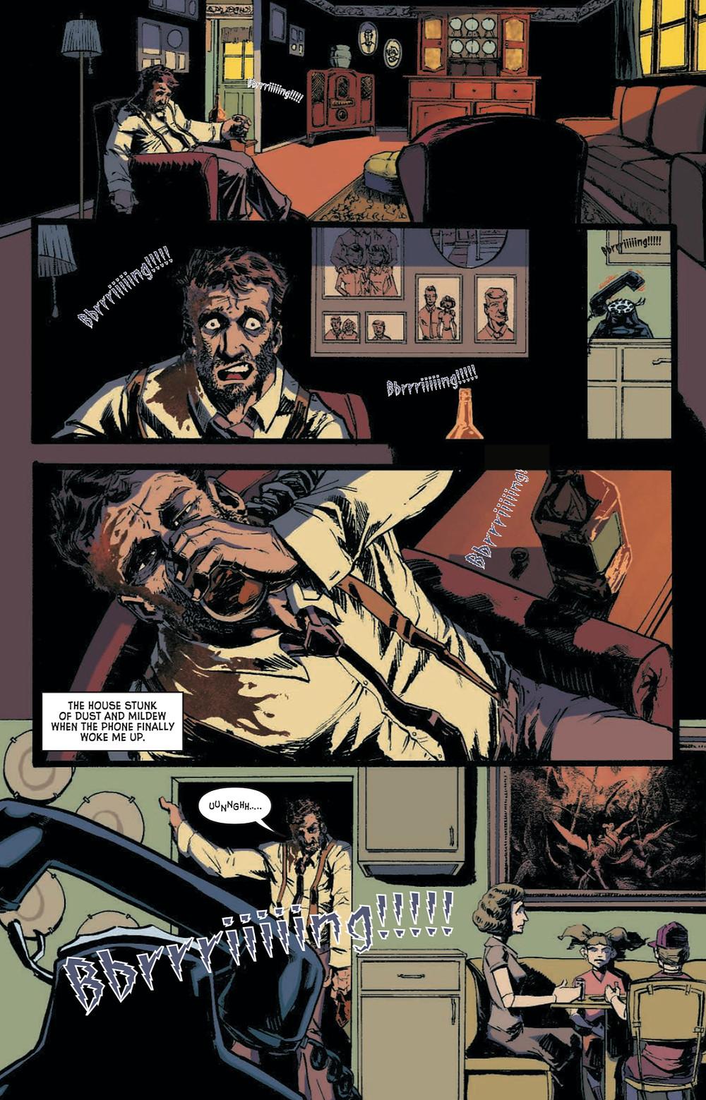 Broderick, issue #1, page 4, Squirt Gun Studios, Bryce/Peteranetz