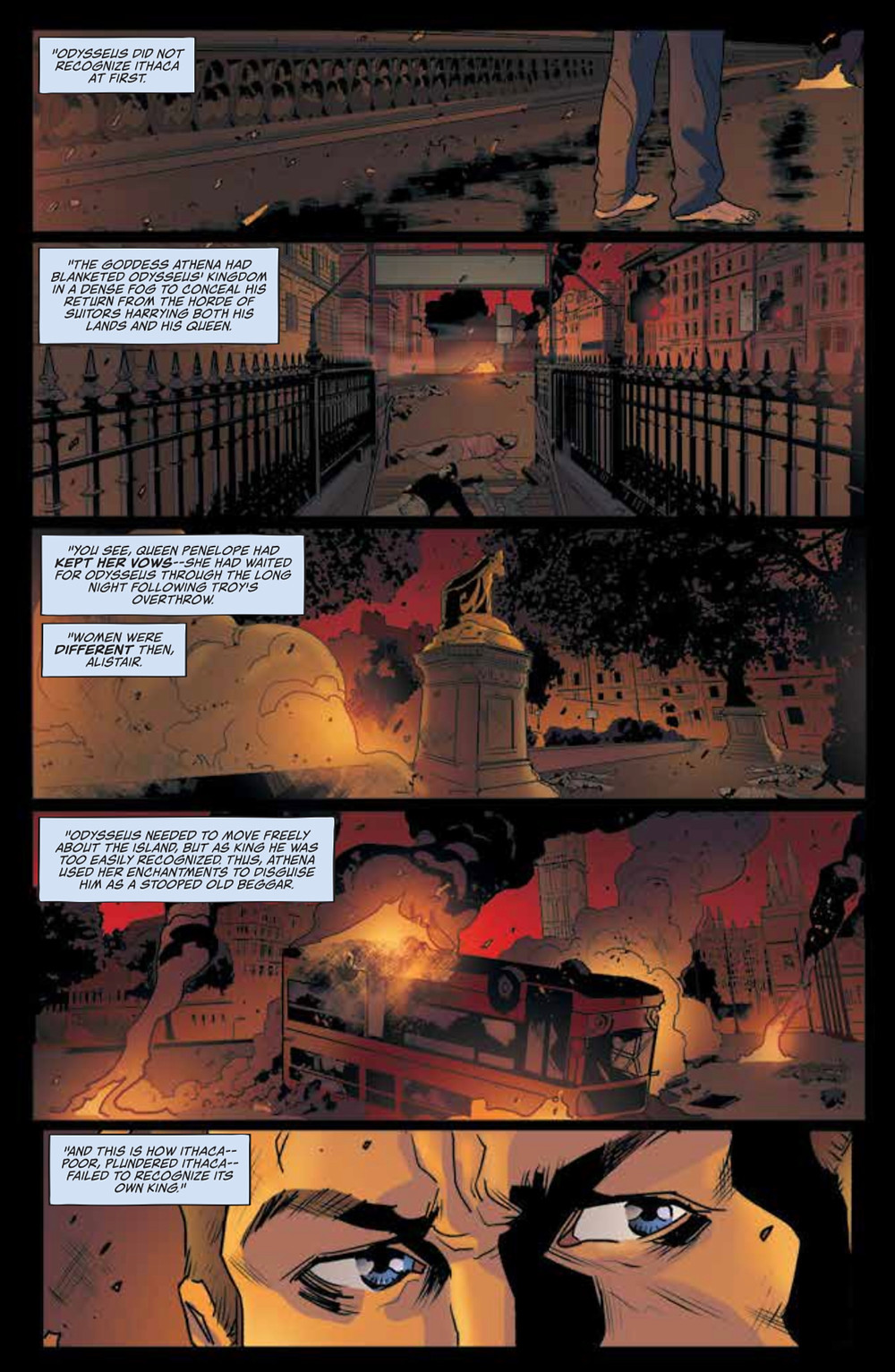 KINO, Issue #13, Lion Forge, Paknadel/Galindo