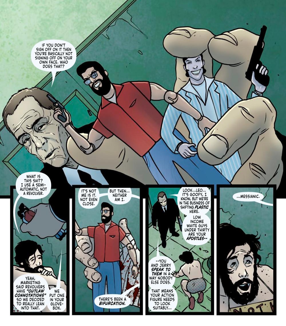 Friendo™, Issue #4, Vault Comics, Paknadel/Simmonds