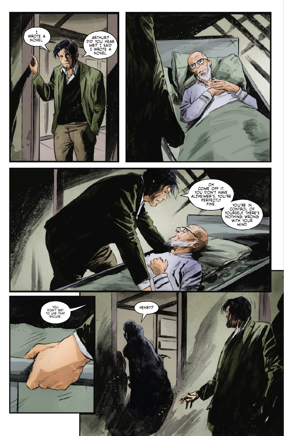 Fearscape, Issue #3,  Vault Comics, O'Sullivan/Mutti