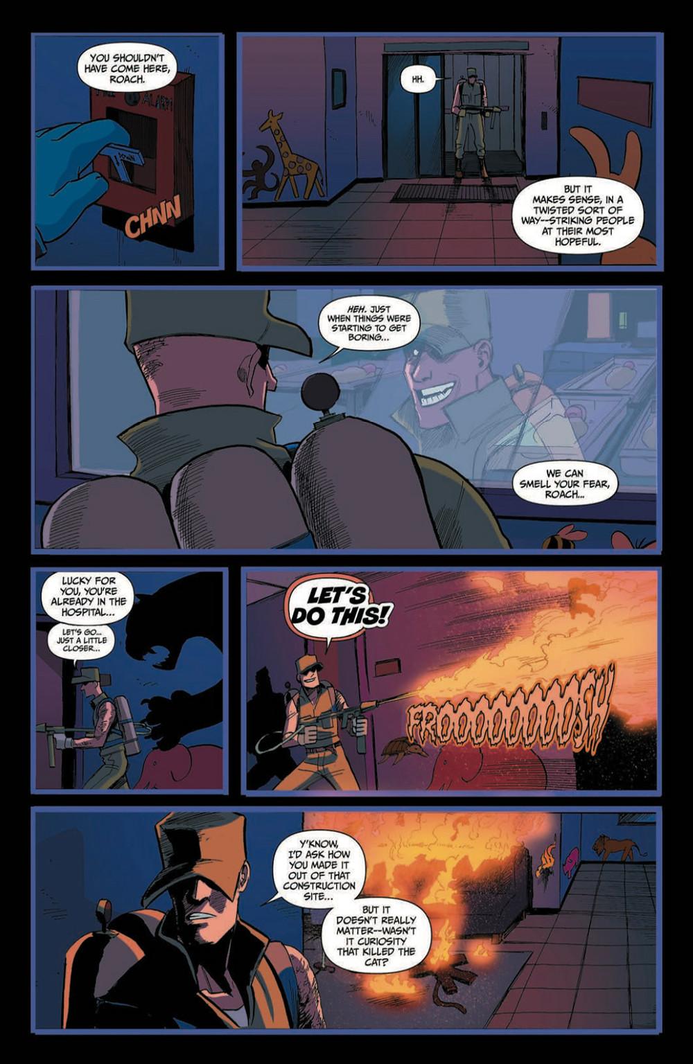 Spencer & Locke 2 #4, page 7, Action Lab Entertainment, Pepose/Santiago, Jr.