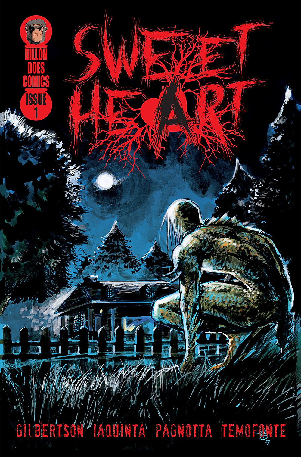 Sweet Heart, Issue #1, cover, Self-published, Gilbertson/Iaquinta