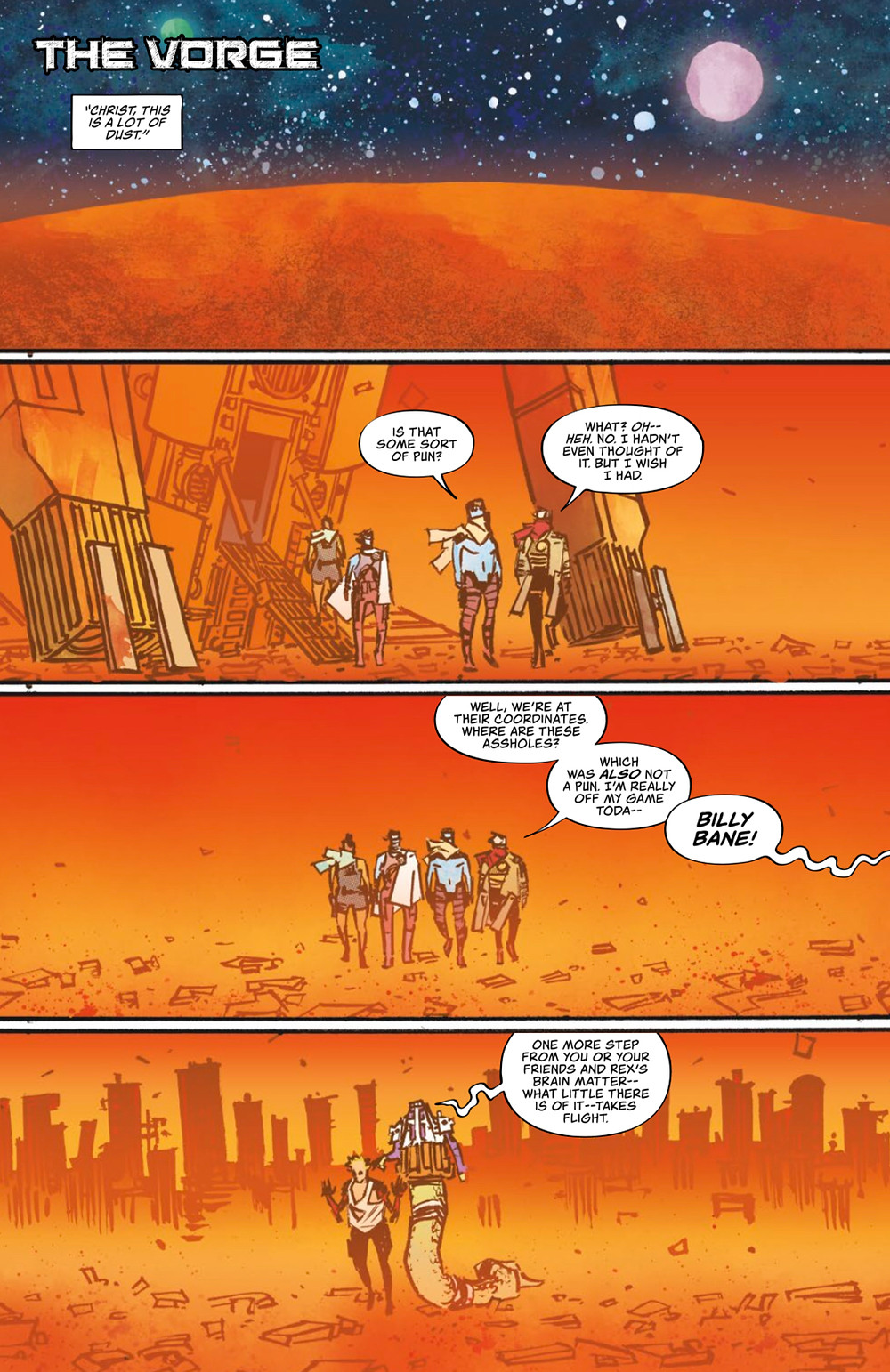 Wasted Space, issue #7, page 12, Vault Comics, Moreci/Sherman