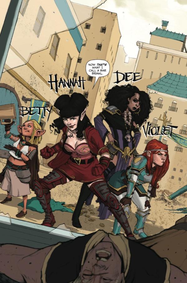 Rat Queens, Vol. 1 (tpb), page 11, Image Comics, Wiebe/Upchurch