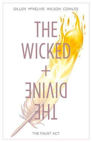 The Wicked + The Divine, Vol. 1 (tpb), cover, Image Comics, Gillen/McKelvie