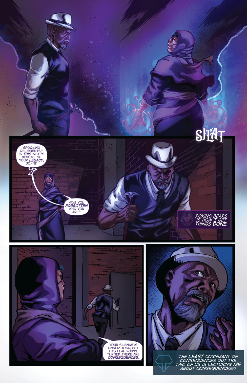 The Passing, Issue #0, page 7, Arclight Comics, Williams/Ruiz