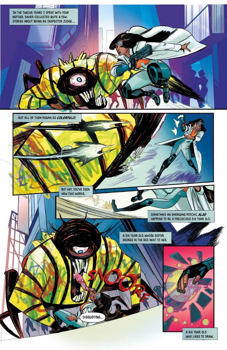 Queen of Bad Dreams, issue #1, Vault Comics, Lore/Pérez