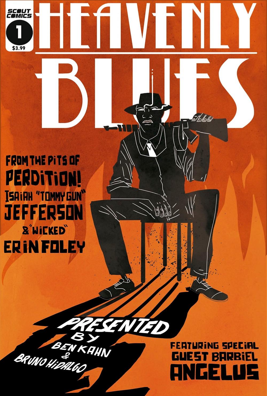 Heavenly Blues (tpb), cover, Scout Comics, Kahn/Hidalgo