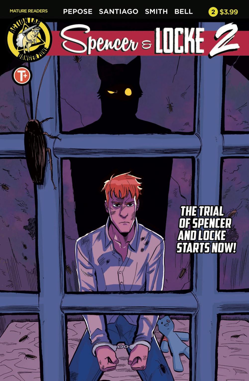 Spencer & Locke 2 #2, cover, Action Lab Entertainment, Pepose/Santiago, Jr.