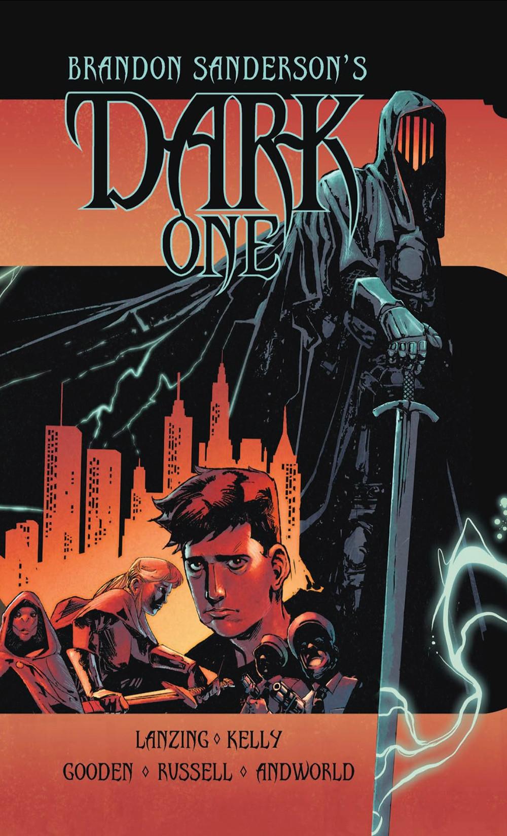 Dark One, Vol. 1, cover, Vault, Sanderson/Lanzing/Kelly/Gooden