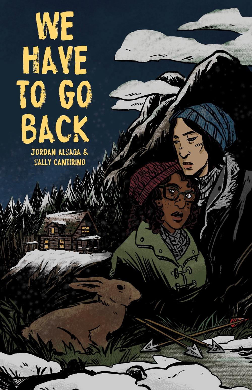 We Have To Go Back, cover, Self-published, Alsaqa/Cantirino