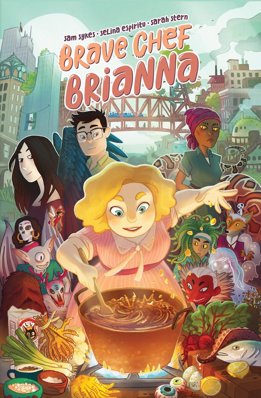 Brave Chef Brianna, cover, BOOM! Studios, Sykes/Espiritu