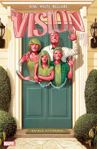 The Vision (tpb), cover, Marvel Comics, King/Walta
