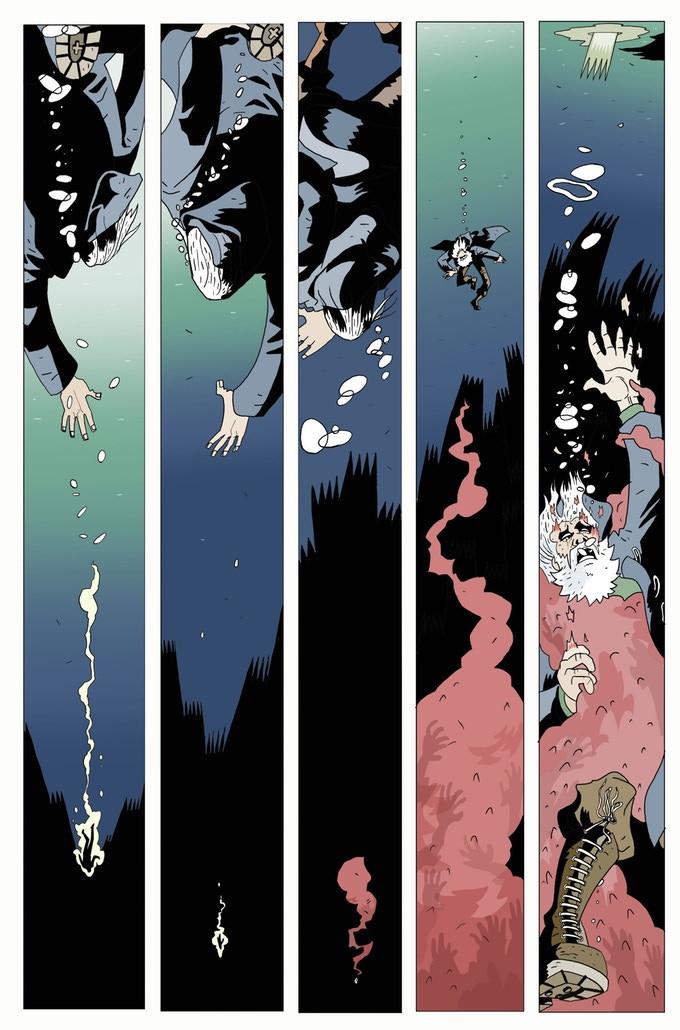 Griff Gristle #3, Madius Comics, Jones/Sambrook/Donald