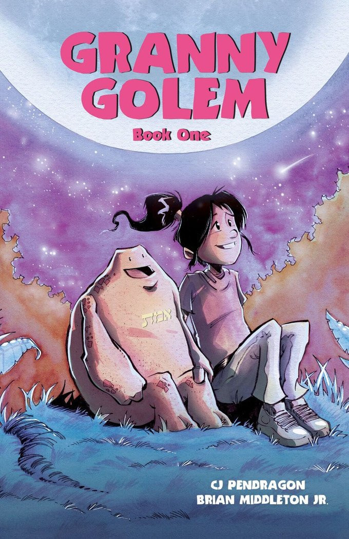 Granny Golem, cover by Shawn Daley, Pendragon/Middleton, Jr.