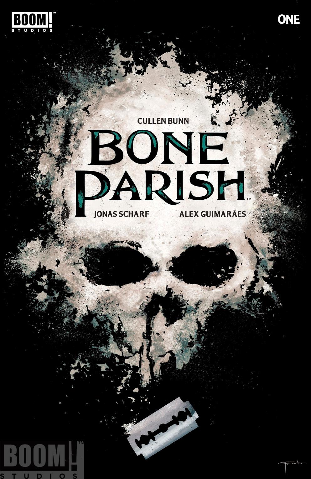 Bone Parish, issue #1, cover, BOOM! Studios, Bunn/Scharf