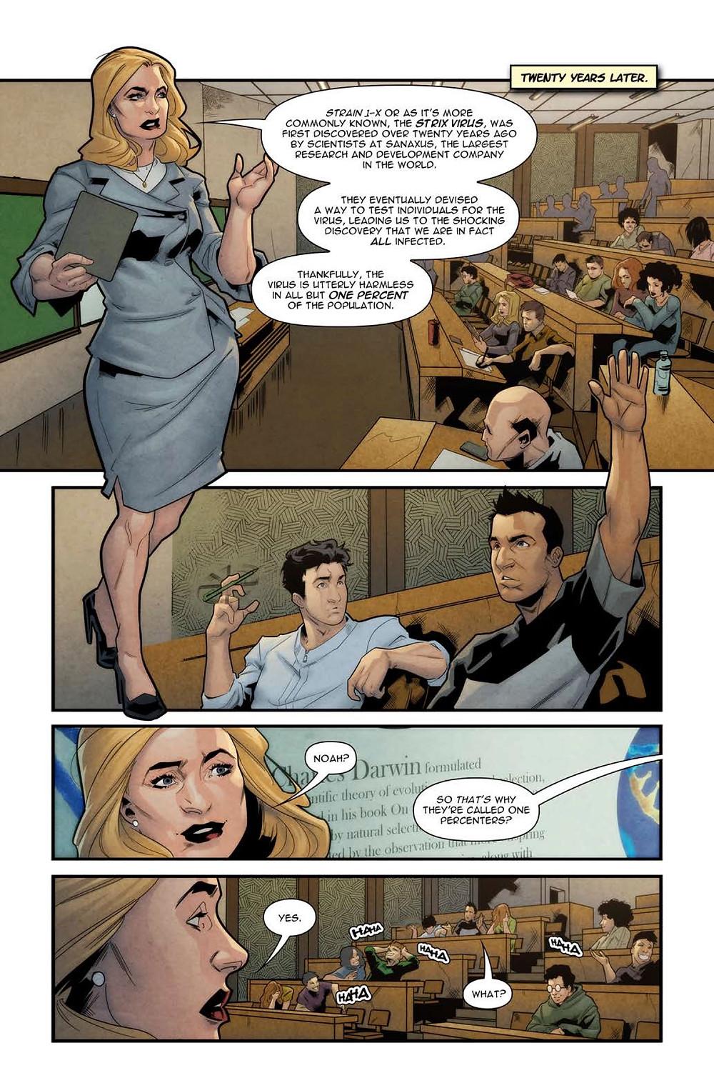 Category Zero, page 5, cover, Scout Comics, Kiamil/Lima