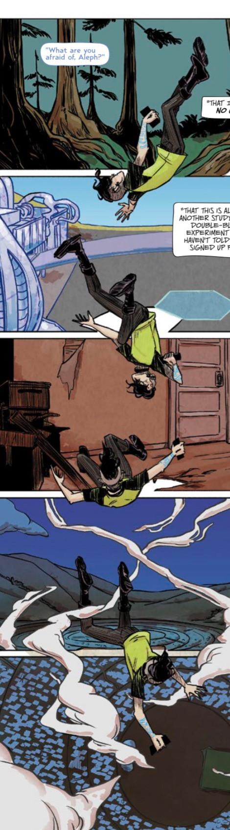 Test, issue #4, Vault Comics, Sebela/Hickman