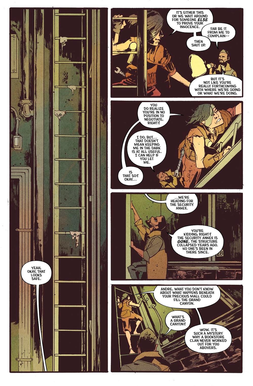 Mall, issue #2, page 12, Vault Comics, Moreci/Dauberman/Hartong