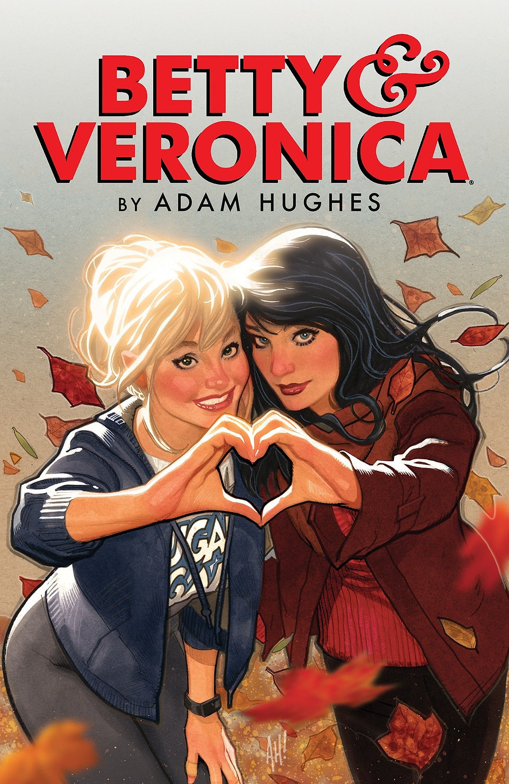 Betty & Veronica, Vol. 1 (tpb), cover, Archie Comics, Hughes