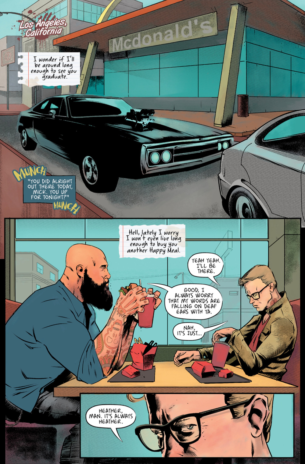 Mistakes, one-shot, page 2, self-published, Harshman/Utrera