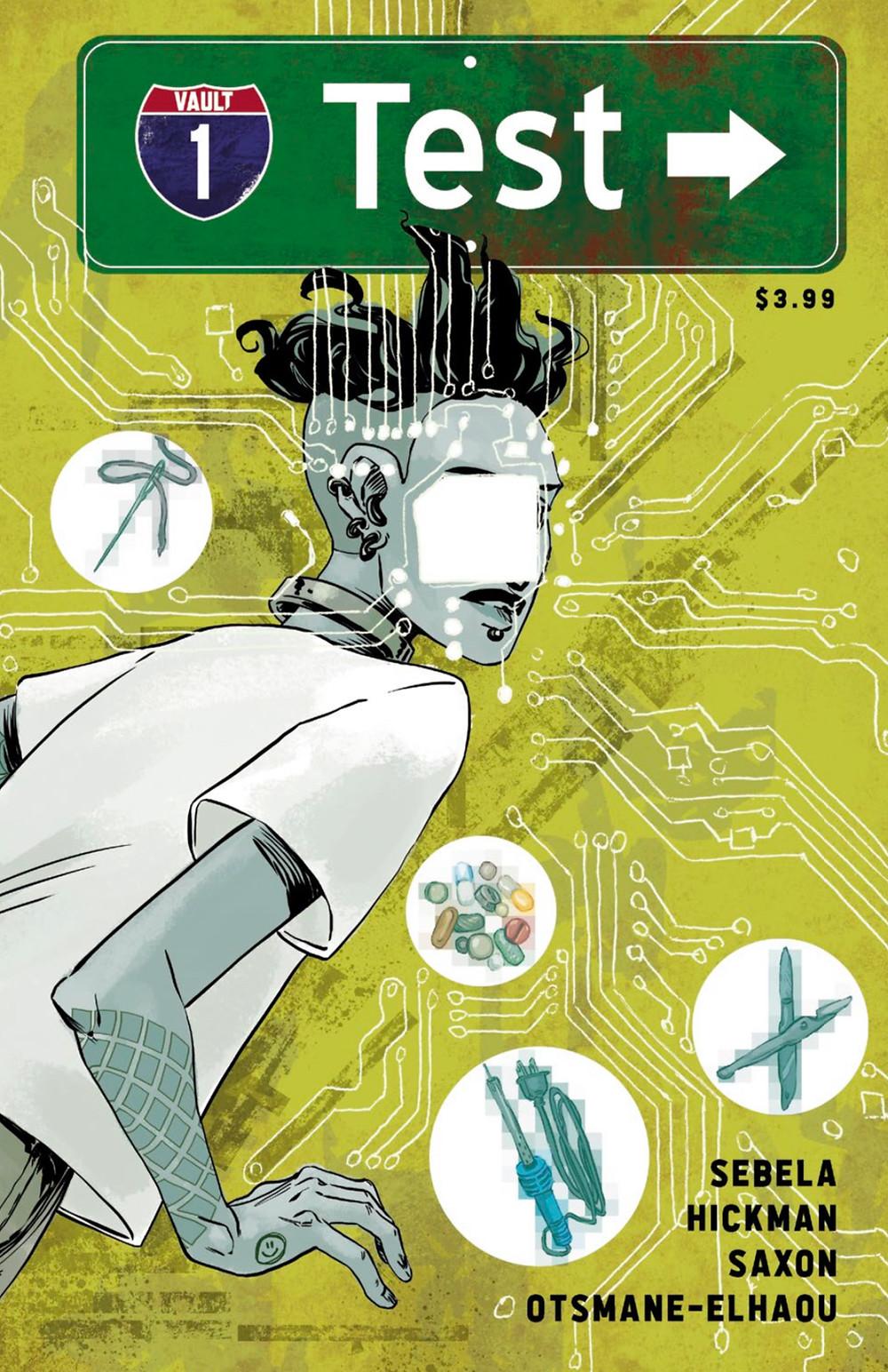 Test, issue #1, cover, Vault Comics, Sebela/Hickman