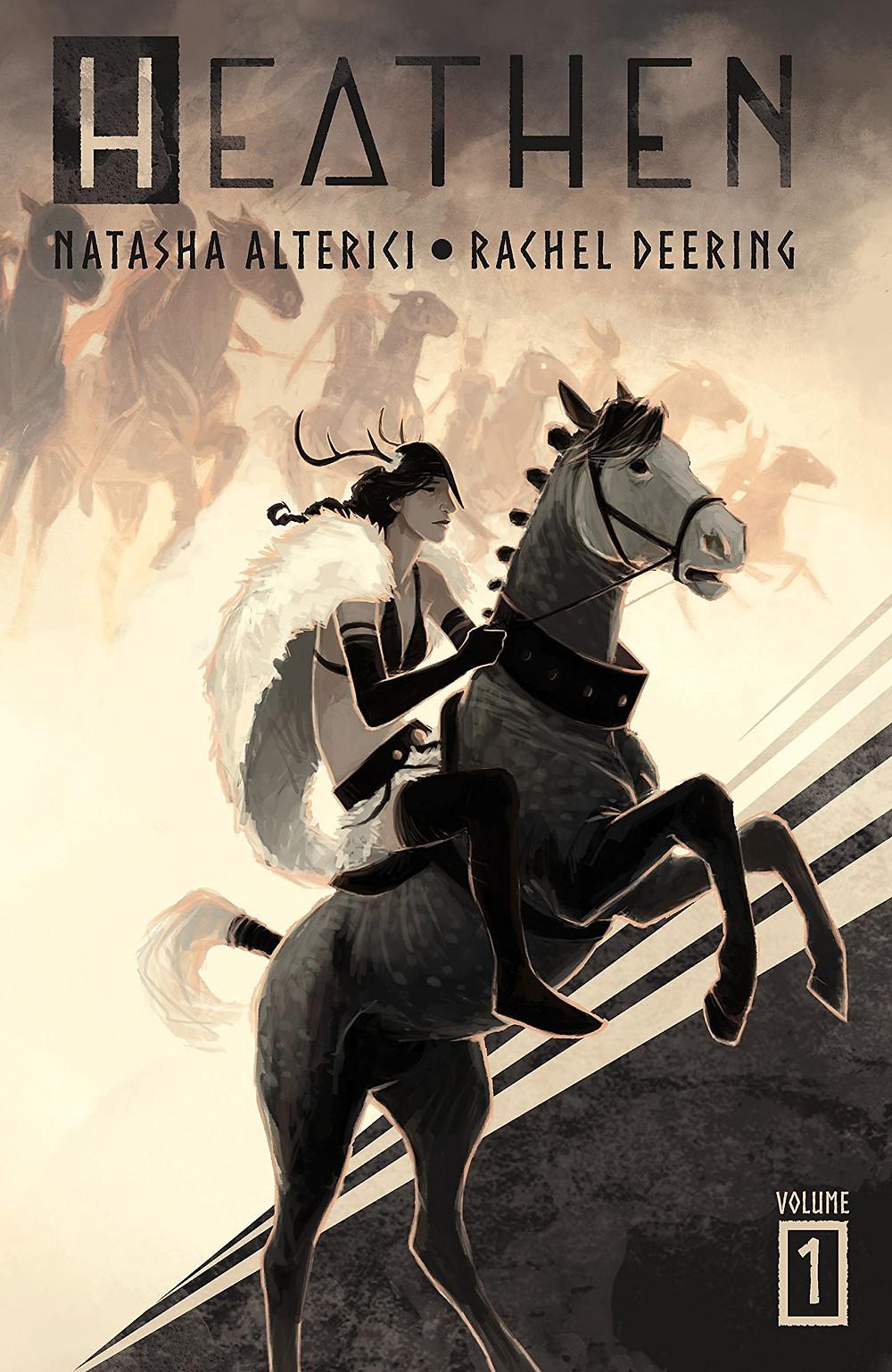 Heathen, Vol 1, Cover, Vault comics, Natasha Alterici
