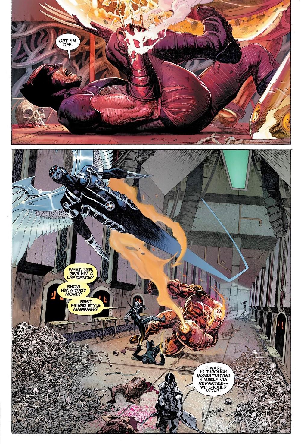 Uncanny X-Force #2, page 3, Marvel Comics, Remender/Opeña