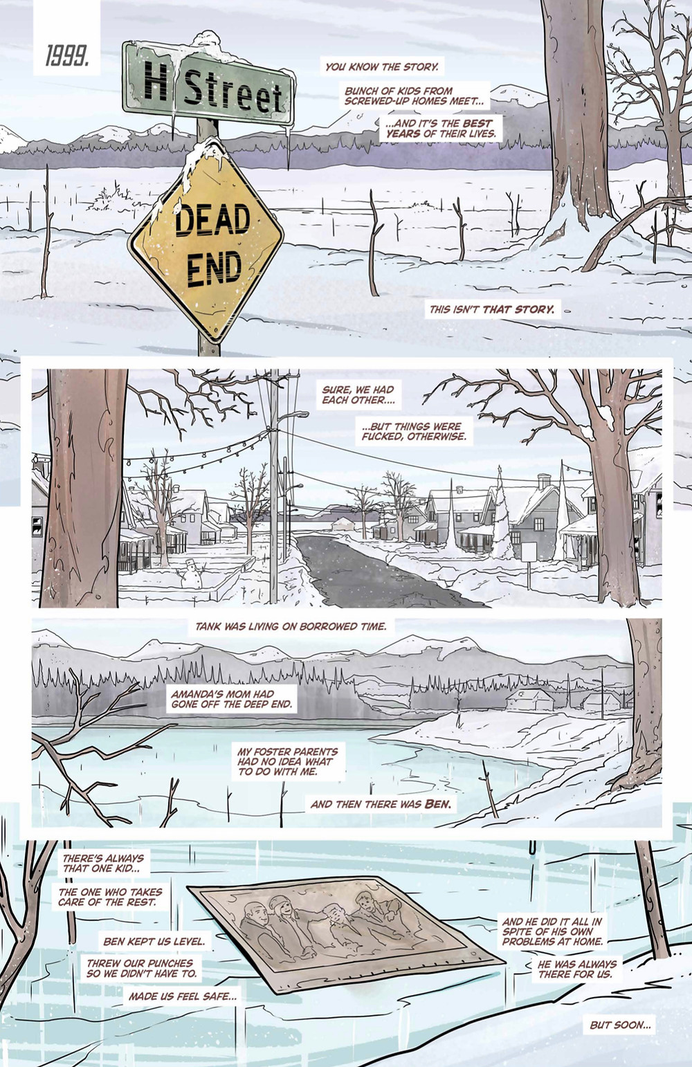 Something Real, issue #1, page 3, Elixir Comics, Turnage/Miller