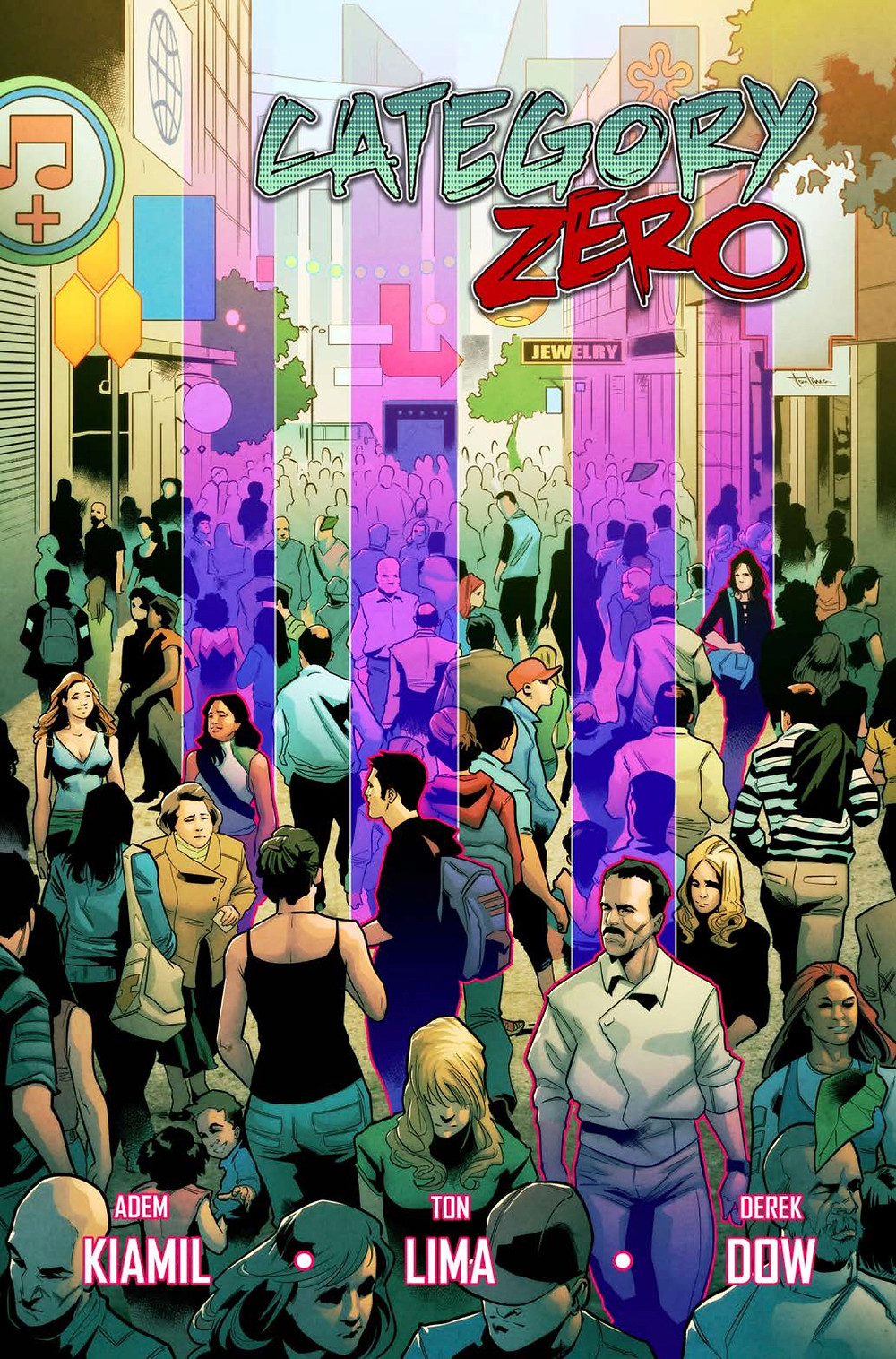 Category Zero, issue #1, cover, Scout Comics, Kiamil/Lima