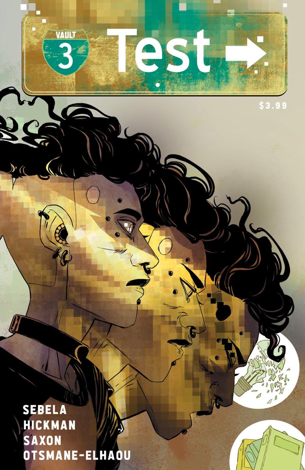 Test, issue #3, cover, Vault Comics, Sebela/Hickman