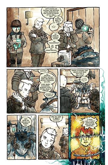 Earworm, page 4, self-published, Quinn/Lawson/Lorbiecki