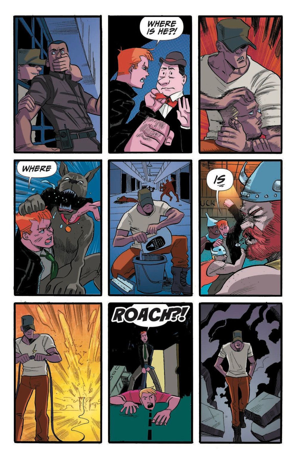Spencer & Locke 2 #2, page 6, Action Lab Entertainment, Pepose/Santiago, Jr.