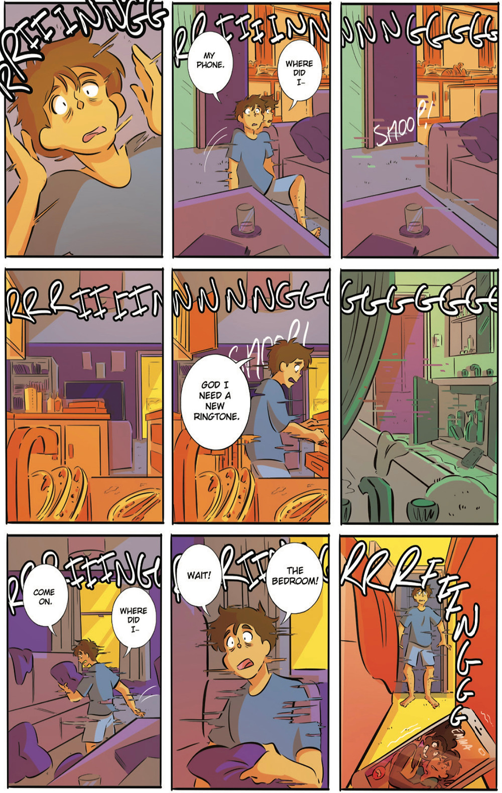 Plexus, one-shot, page 8, Limit Break Comics, Carroll/Reynolds/Griffin/Mardo