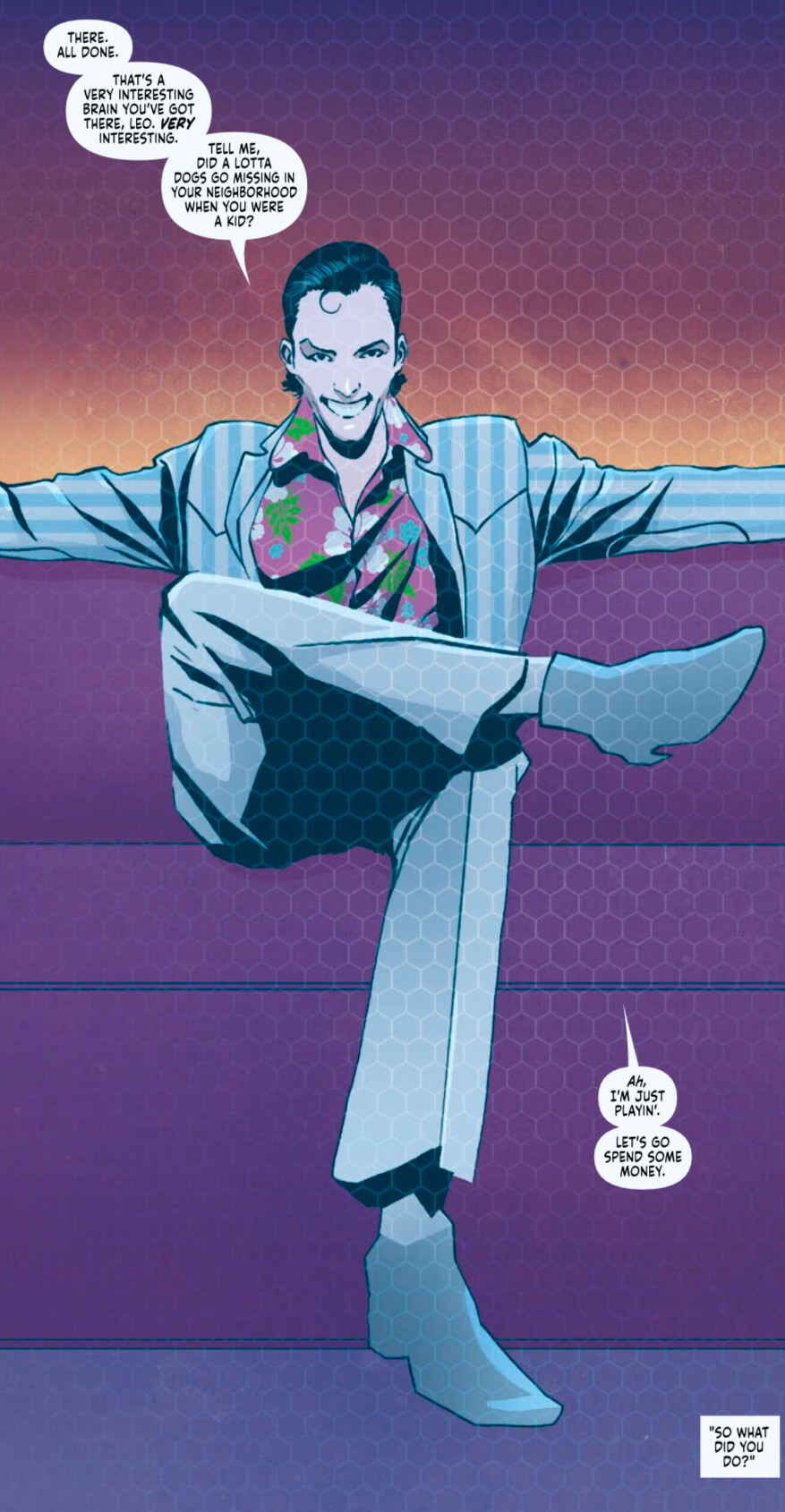 Friendo™, Issue #1, page 15, Vault Comics, Paknadel/Simmonds