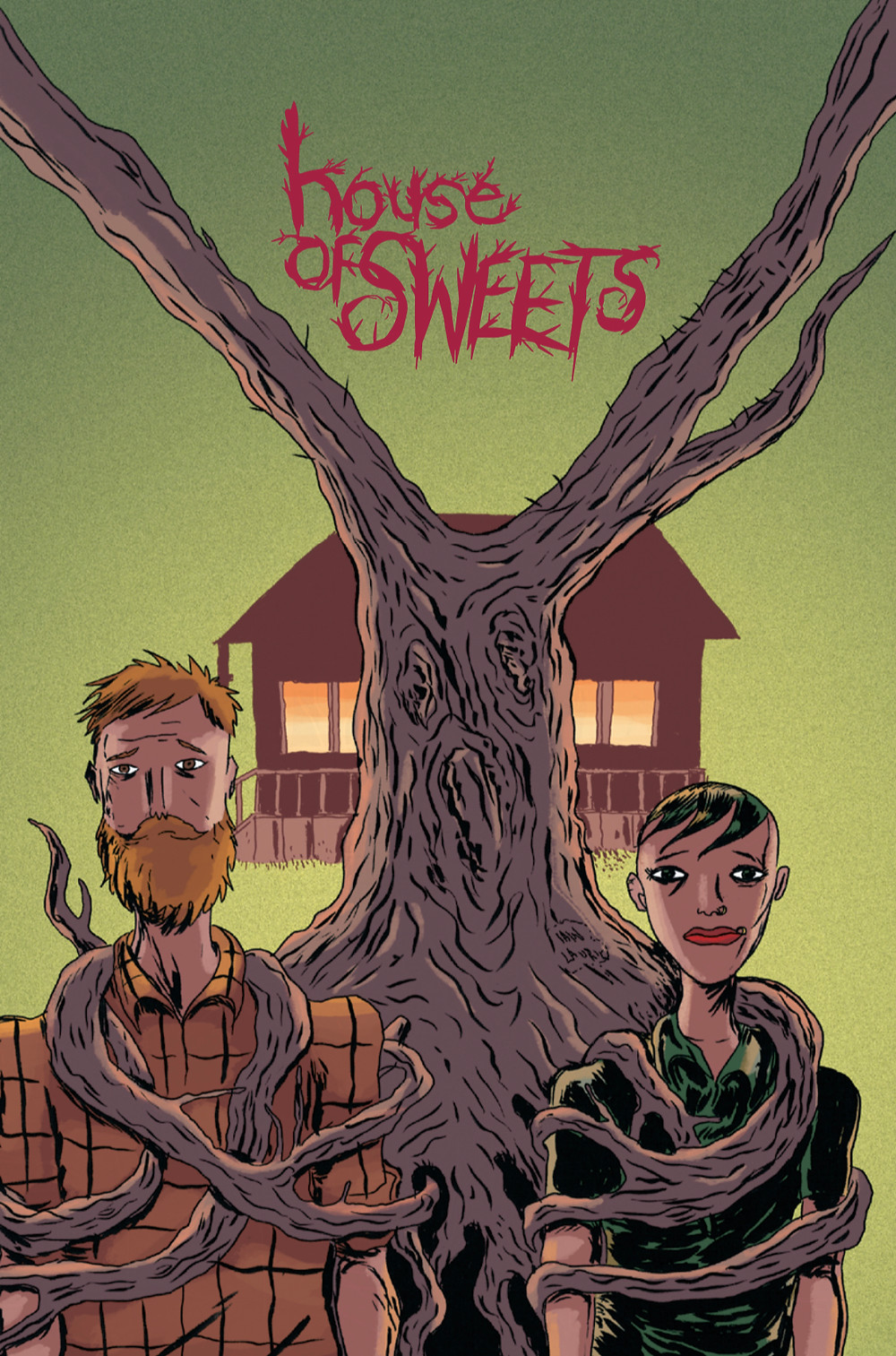 House of Sweets, one-shot, cover, Cabal Comics, Campbell/Laurie