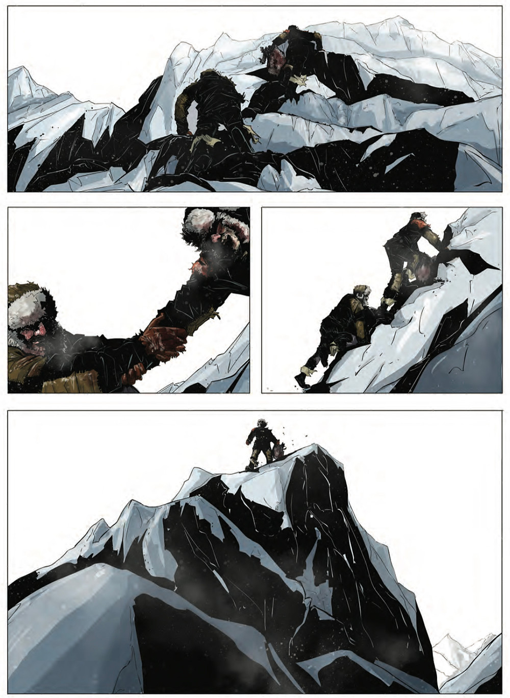 Road of Bones, issue #4, page 3, IDW, Douek/Cormack