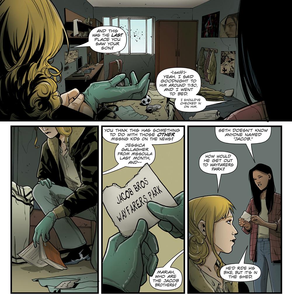 Forgotten Home, issue #1, page 5, Vices Press, Schultz/Cresta